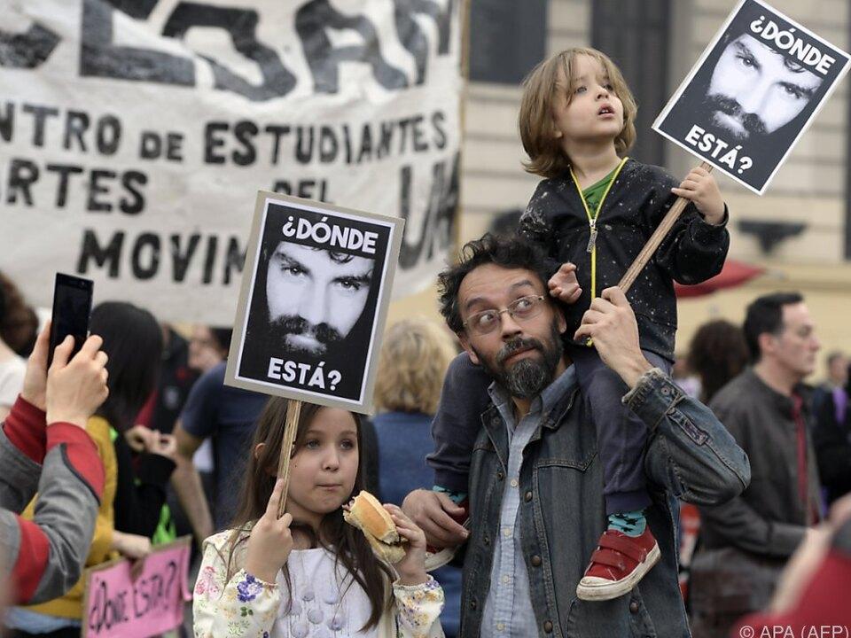 Wo ist Indio-Aktivist Santiago Maldonado?