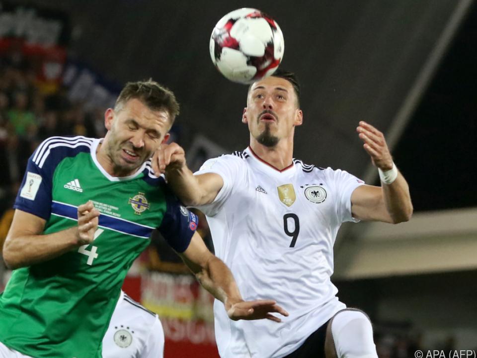 3:1-Sieg der Deutschen in Nordirland