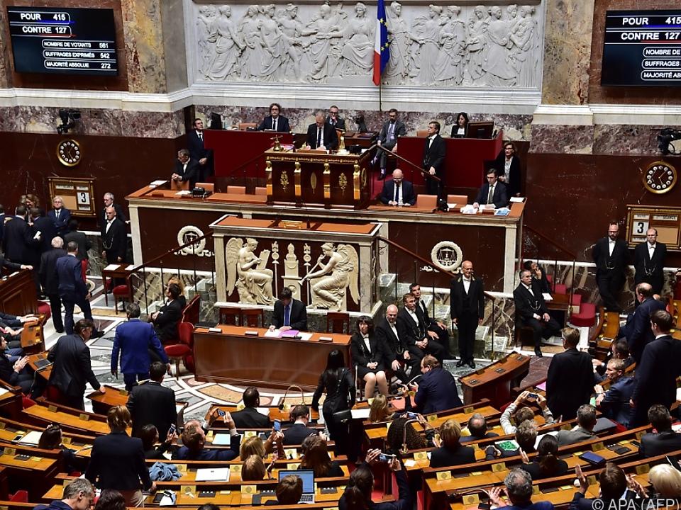 415 Abgeordnete stimmten neuen Regel zu