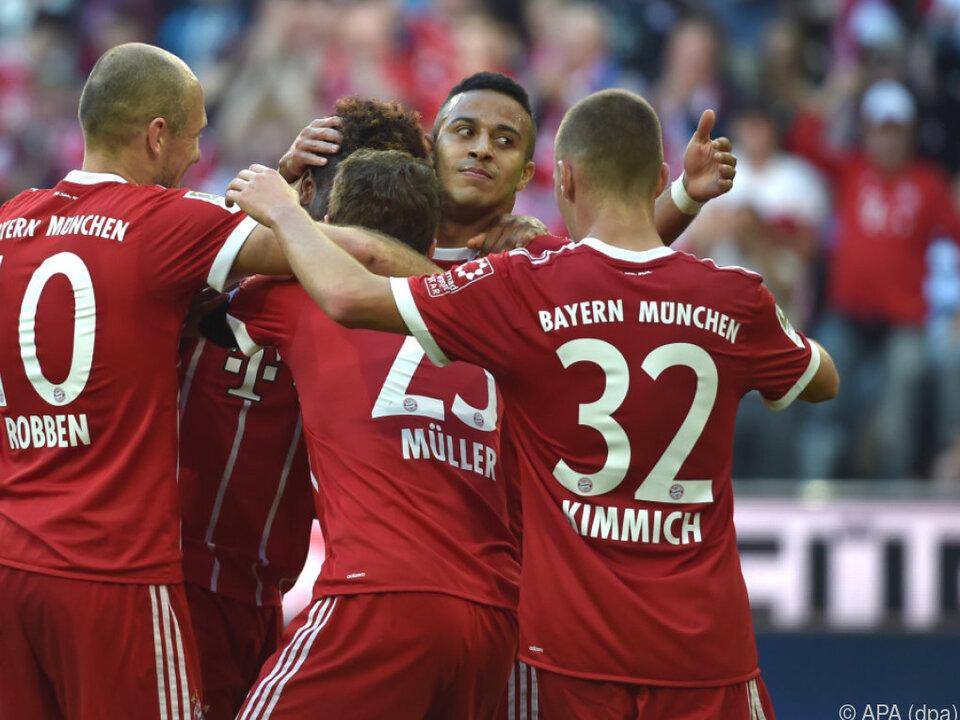 5:0-Schützenfest der Bayern
