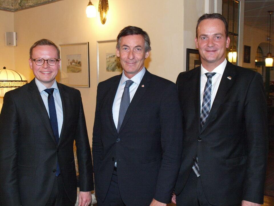 Widmann empfängt Delegation der Deutschen Gemeinschaft Belgiens