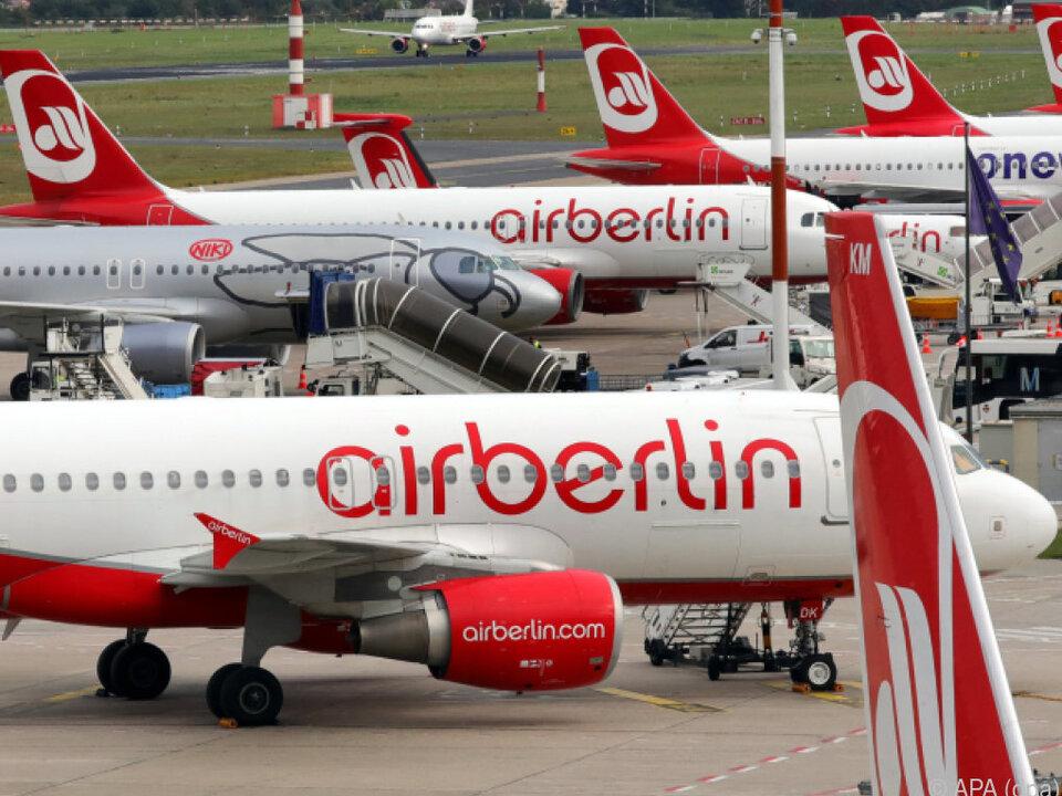 Air Berlin hat im August Insolvenz angemeldet