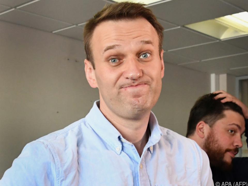 Alexej Nawalny in Putins größter politischer Herausforderer