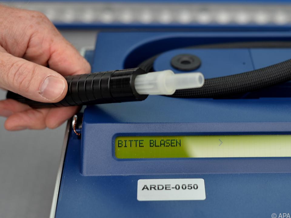 Alkomat-Test des Fahrers ergab 0,64 Promille