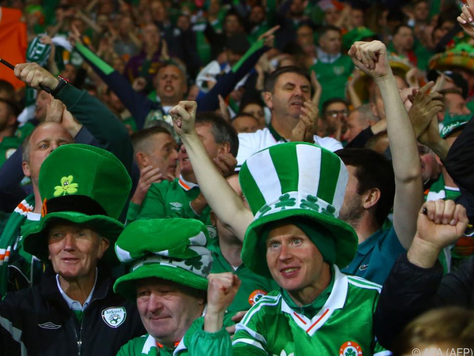 Am Ende jubelten die Iren