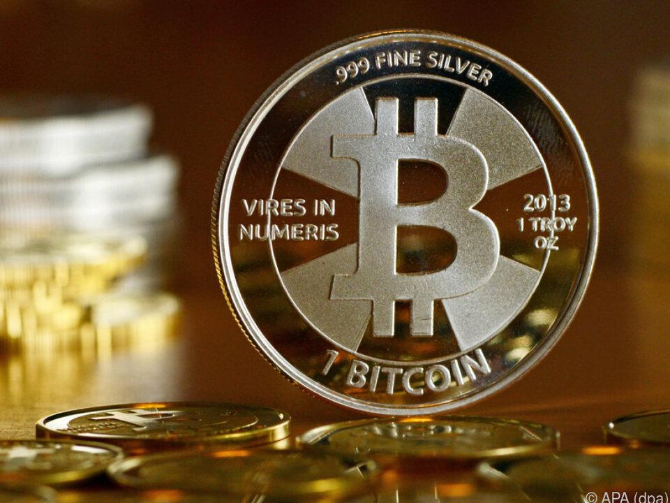 Am Montag und Dienstag kann mittels Bitcoin gezahlt werden