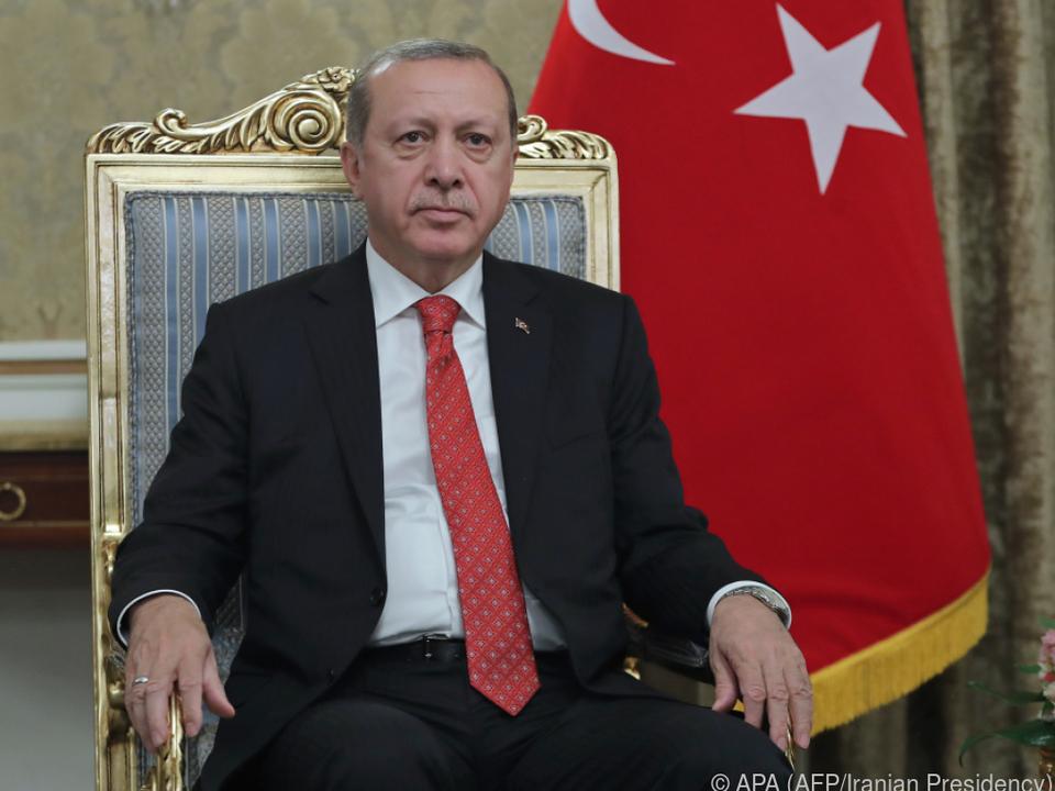 Angeblich war ein Mordkomplott gegen Erdogan geplant