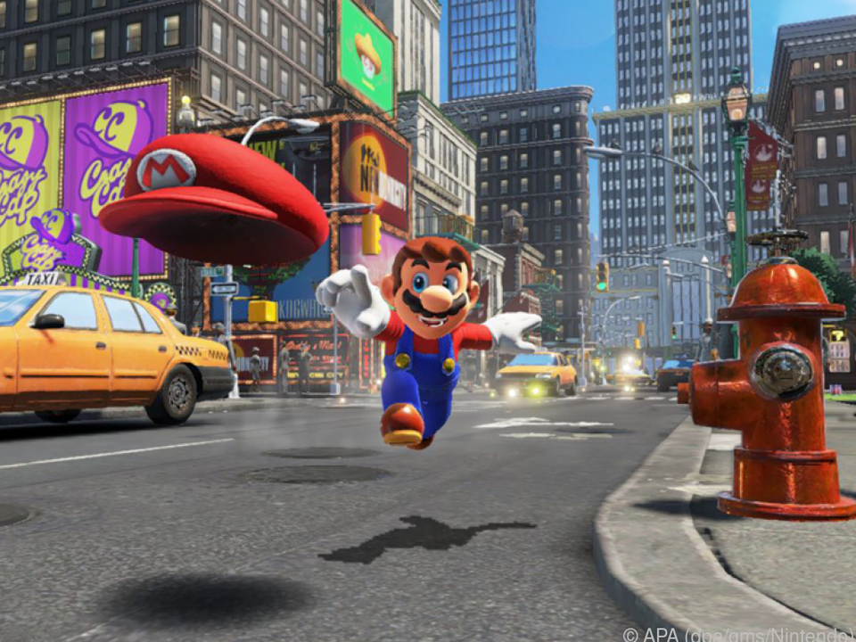 Klempner Mario hat sein erstes großes Abenteuer auf Nintendos Switch