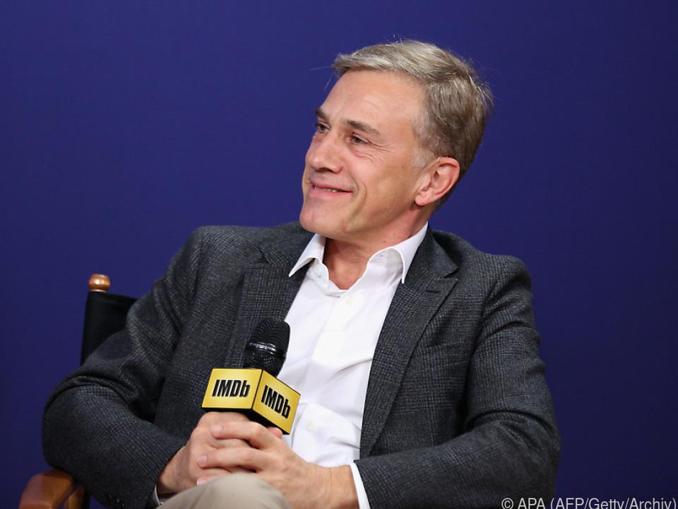 Auch Christoph Waltz nimmt an dem Filmfest in Rom teil