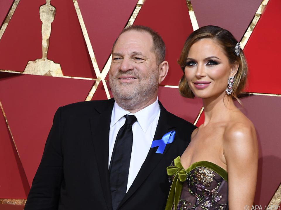 Auch Georgina Chapman verließ Ehemann Weinstein