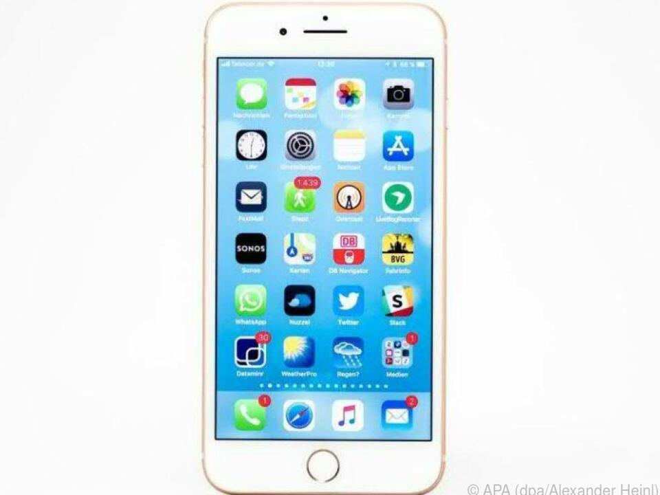 Beim iPhone 8 gibt es eine neue Kombination für einen \