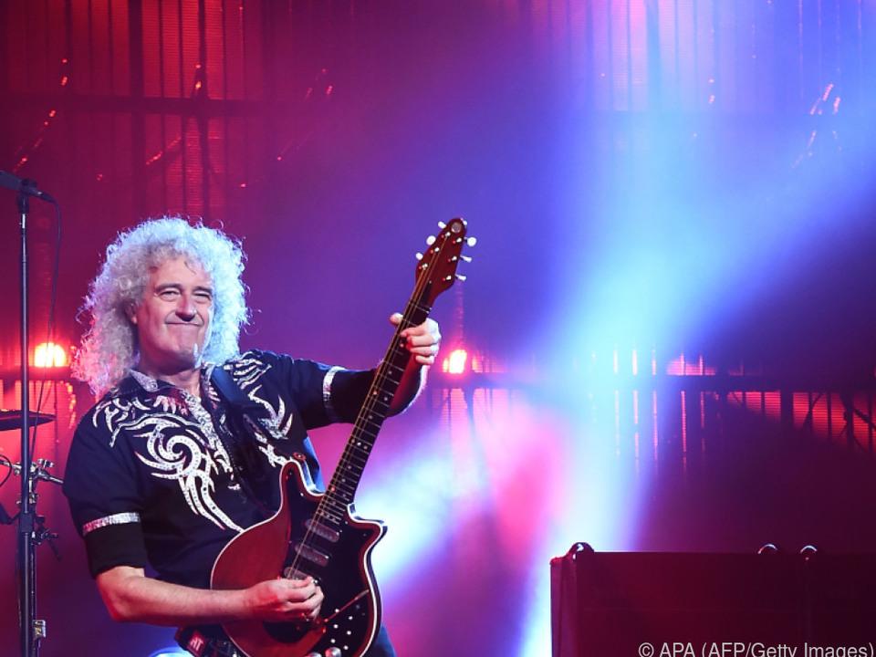 Brian May ist auch als 70-Jähriger viel beschäftigt