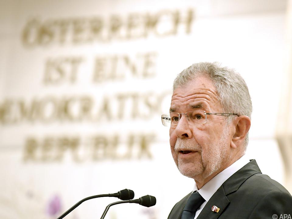 Bundespräsident ruft zum Urnengang am Sonntag aus
