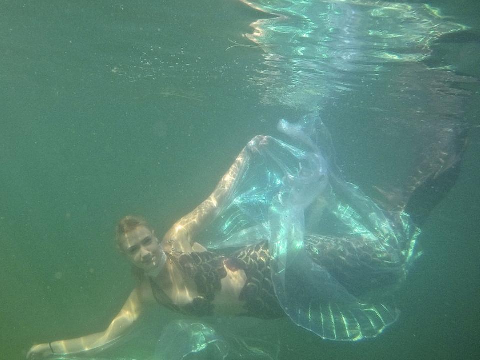 Meerjungfrau Claudia Rubner Dragonfly mermaid