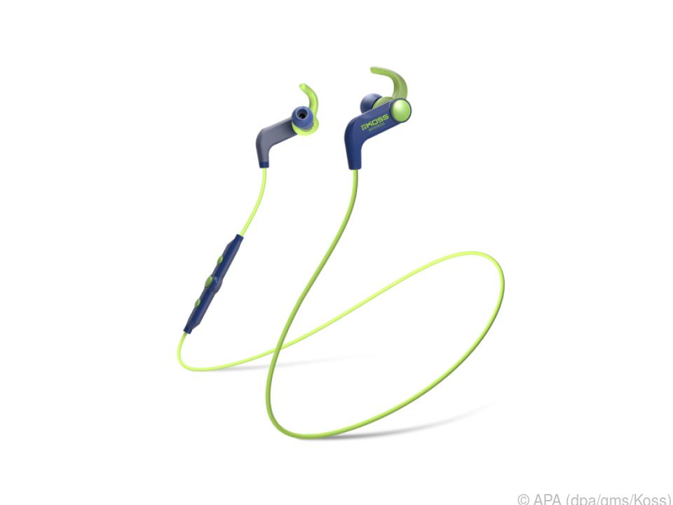Das BT 190i von Koss bringt sechs Stunden Musik drahtlos auf die Ohren
