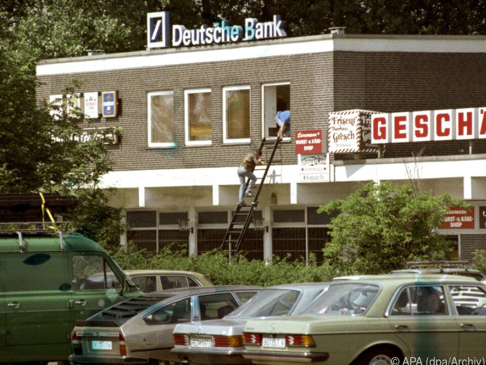 Das Geiseldrama im August 1988 begann in dieser Bank