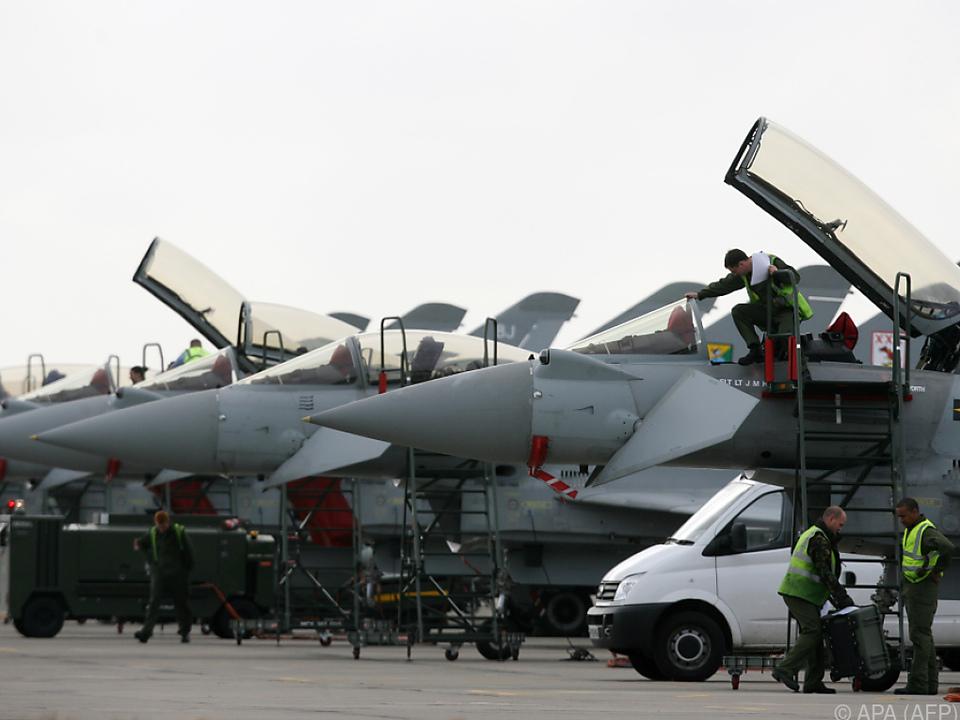 Das Geschäft mit dem Eurofighter läuft derzeit schleppend