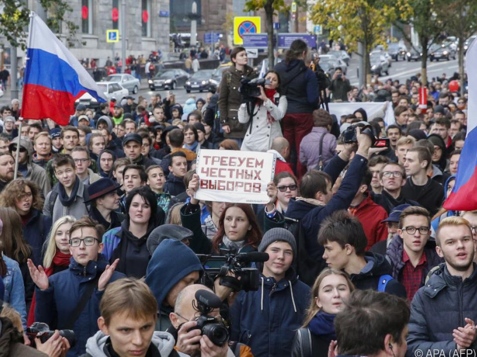 Demonstrationen trotz behördlichem Verbot