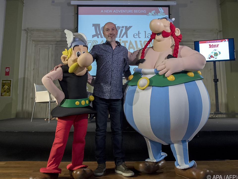 Der 37. Asterix und Obelix-Band erscheint am 19. Oktober