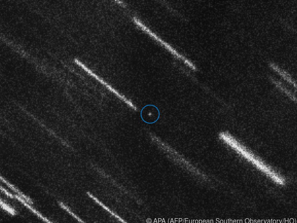Der Asteroid kommt 2079 wieder