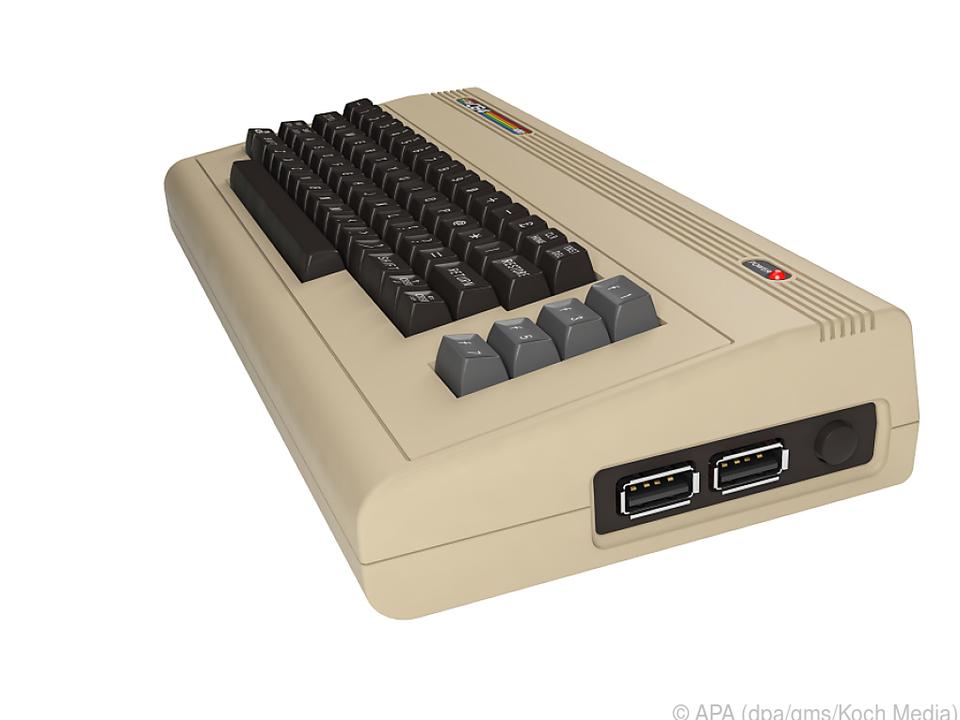 Der Commodore 64 kommt in einer modernisierten Neuauflage in den Handel