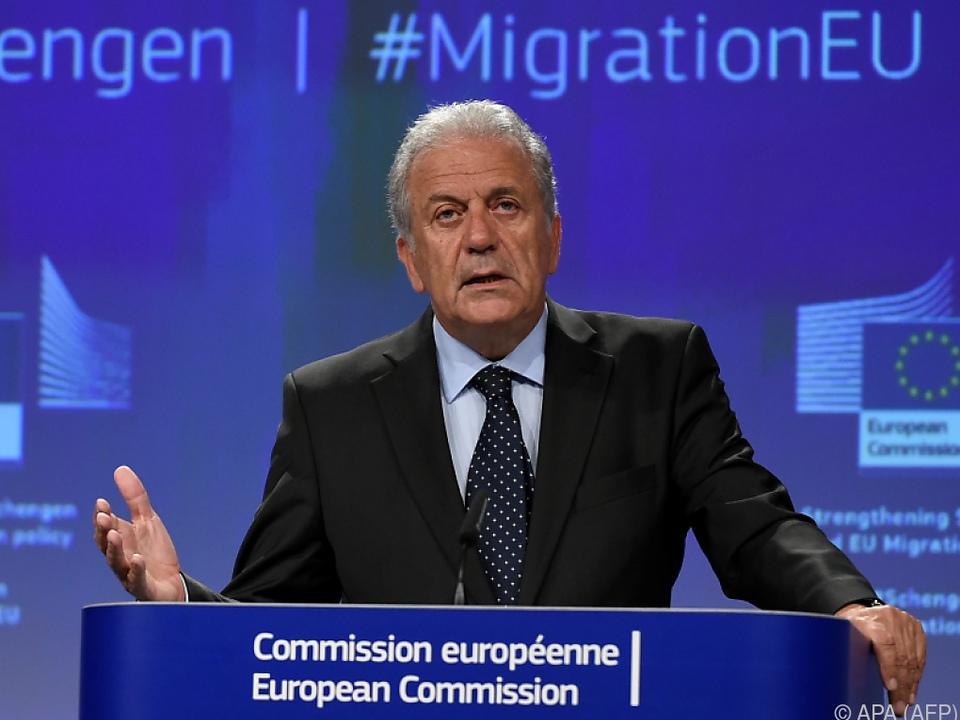 Der EU-Kommissar nannte keine Einzelbeiträge der EU-Staaten