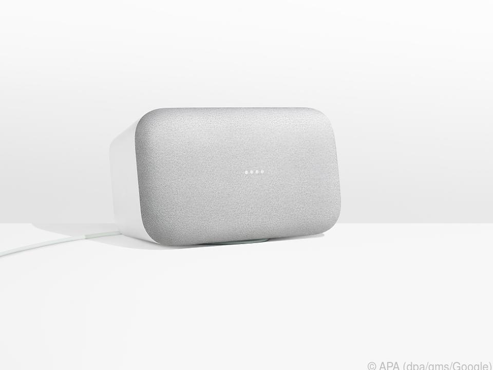 Der Google Home Max auch zum Heim-Soundsystem taugen