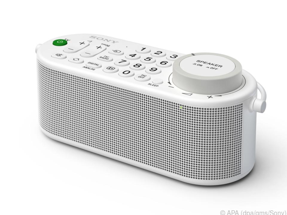 Der mobile TV-Lautsprecher SRS-LSR 100 von Sony hat viele Talente