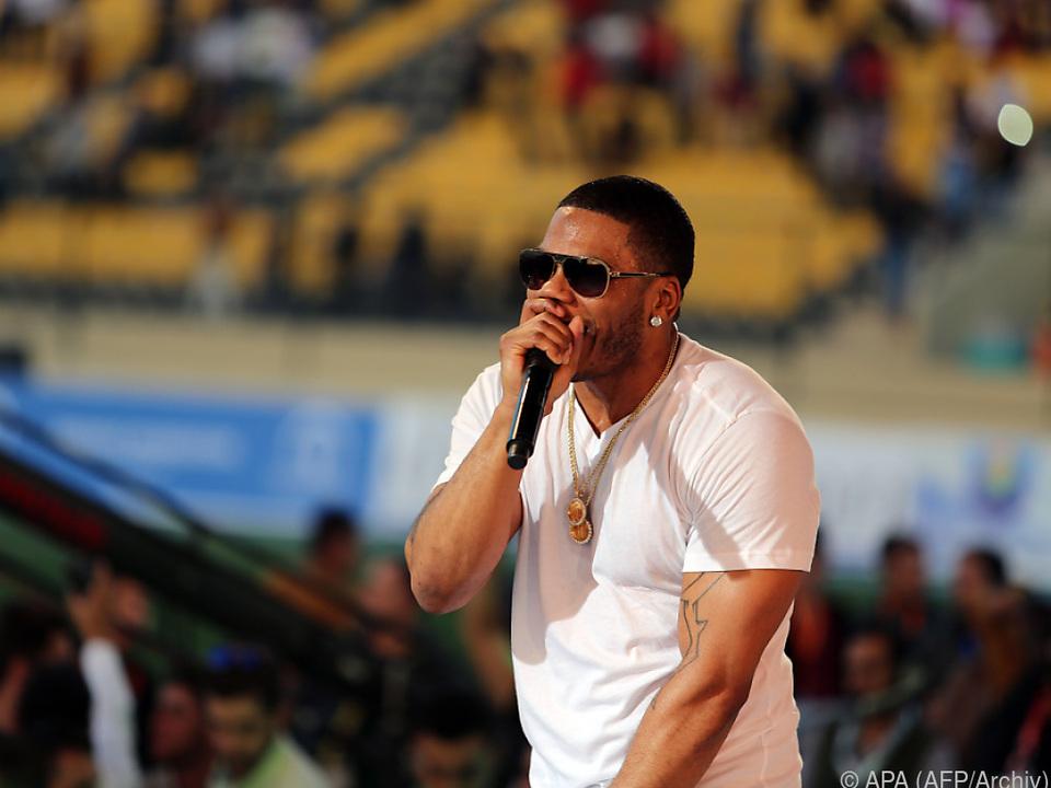 Der Rapper wurde am Samstag in Gewahrsam genommen