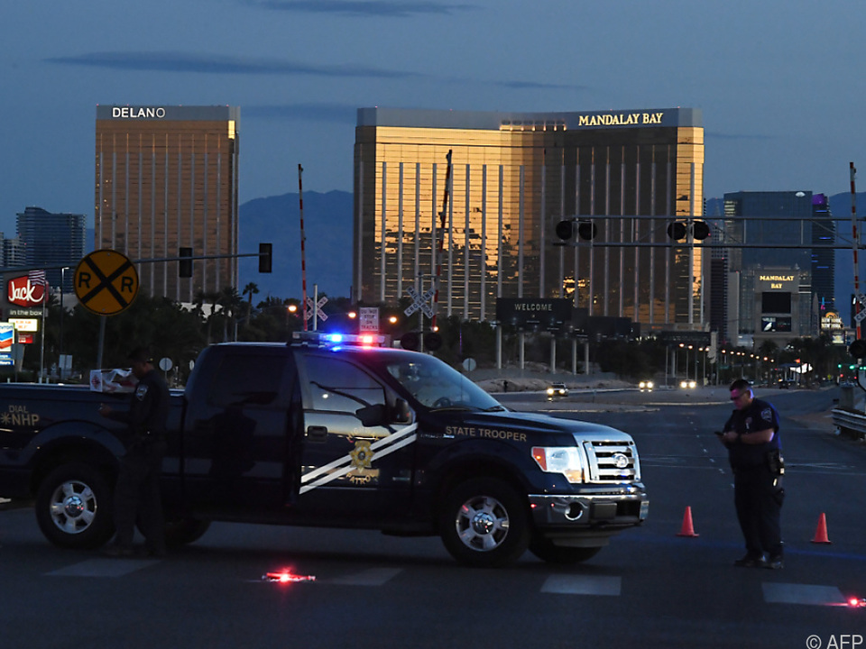 Der Schütze schoss aus dem 32. Stockwerk eines Hotels