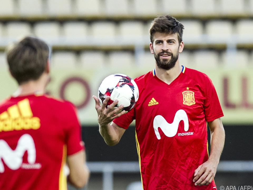 Der Verteidiger spielt gerne für Spanien