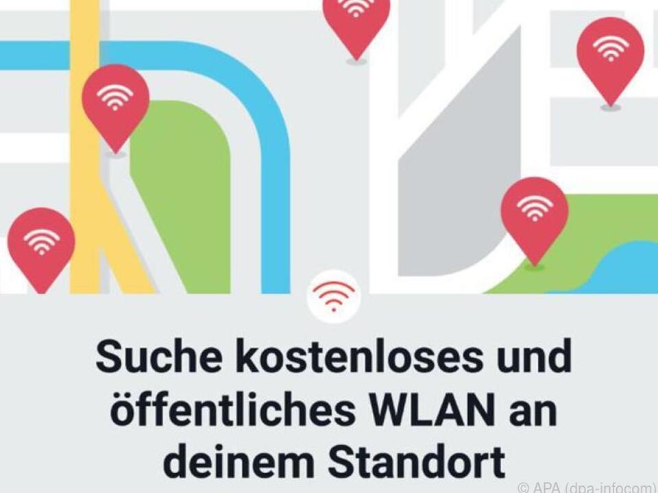 Die Facebook-App macht leicht, einen freien WLAN-Hotspot zu finden