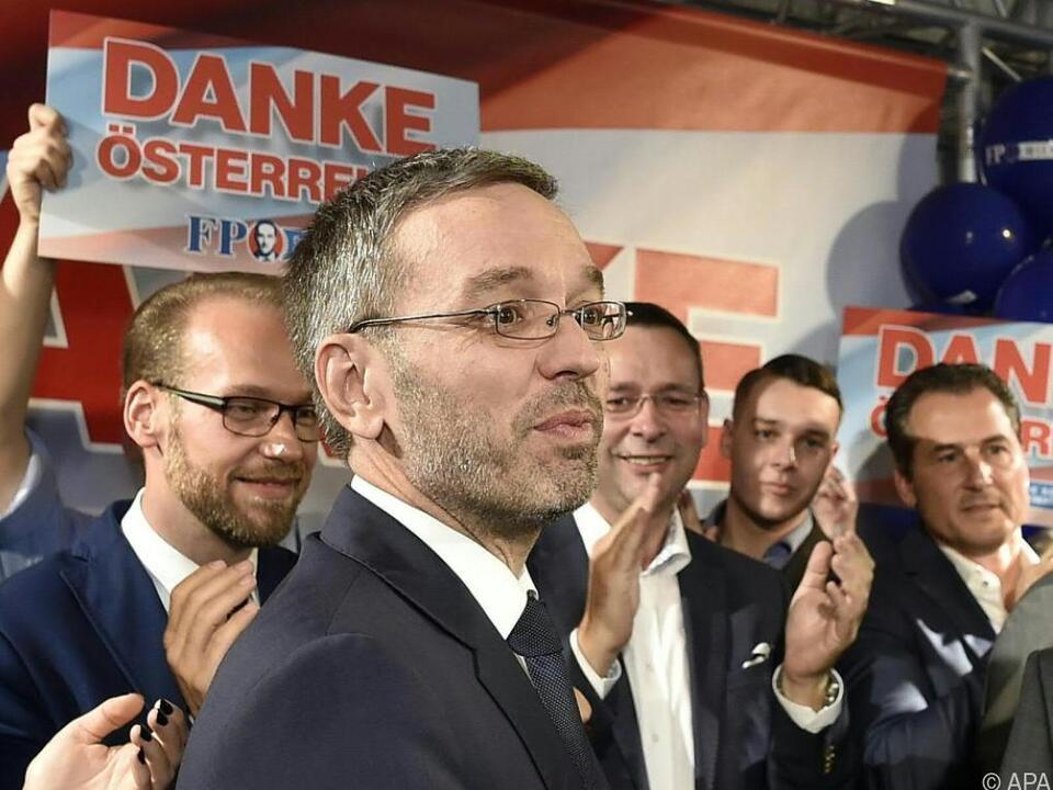 Die FPÖ darf sich als Wahlsieger fühlen