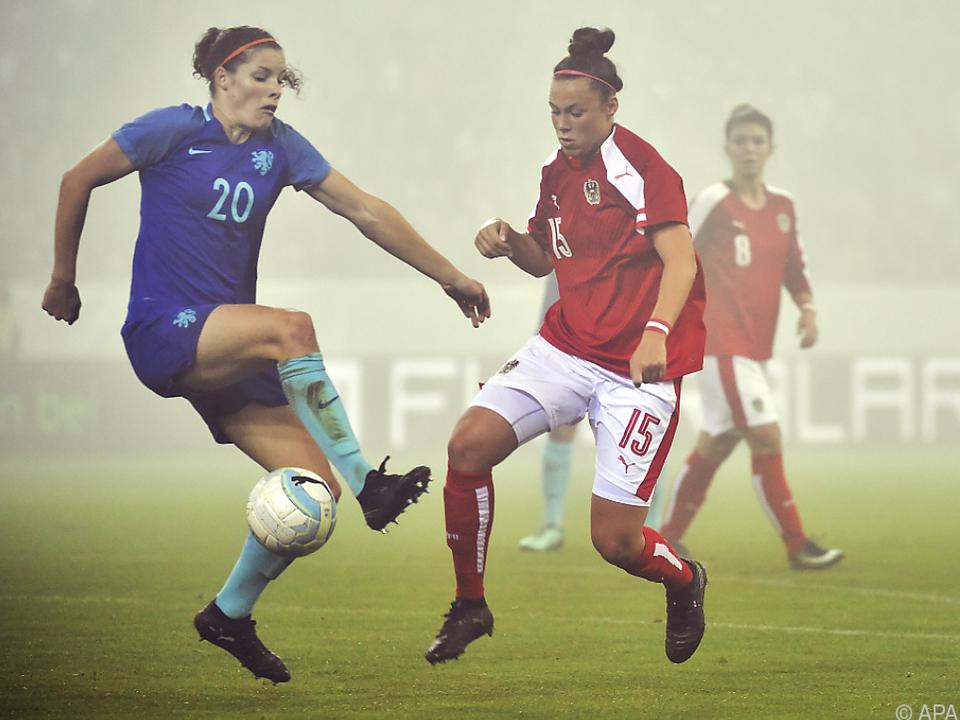 Die ÖFB-Damen forderten den Europameister voll