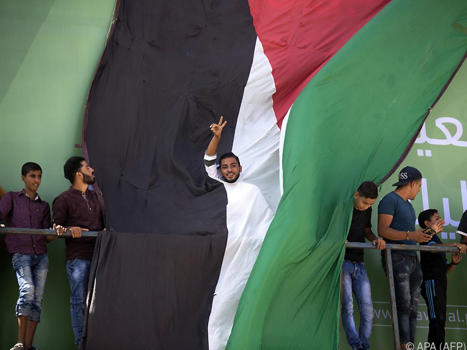 Die Palästinenser hoffen auf eine Versöhnung