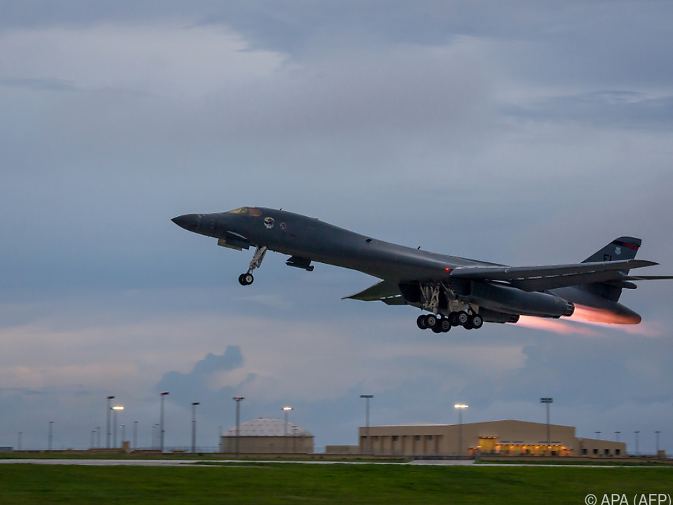 Die US Air Force demonstrierte ihre Stärke