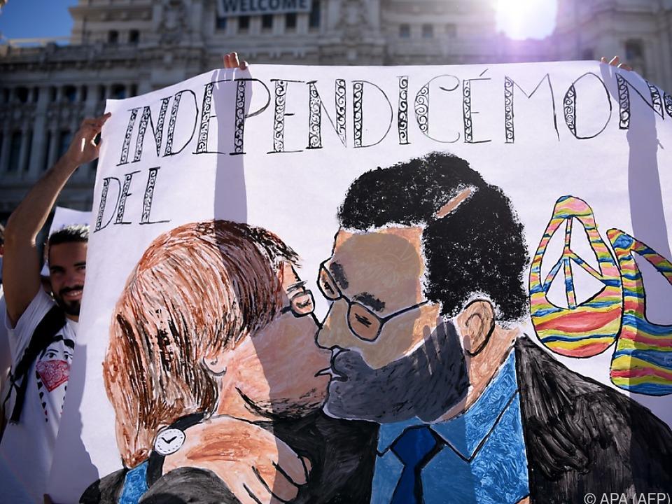 Diese Szenerie zwischen Puigdemont und Rajoy ist wohl unrealistisch