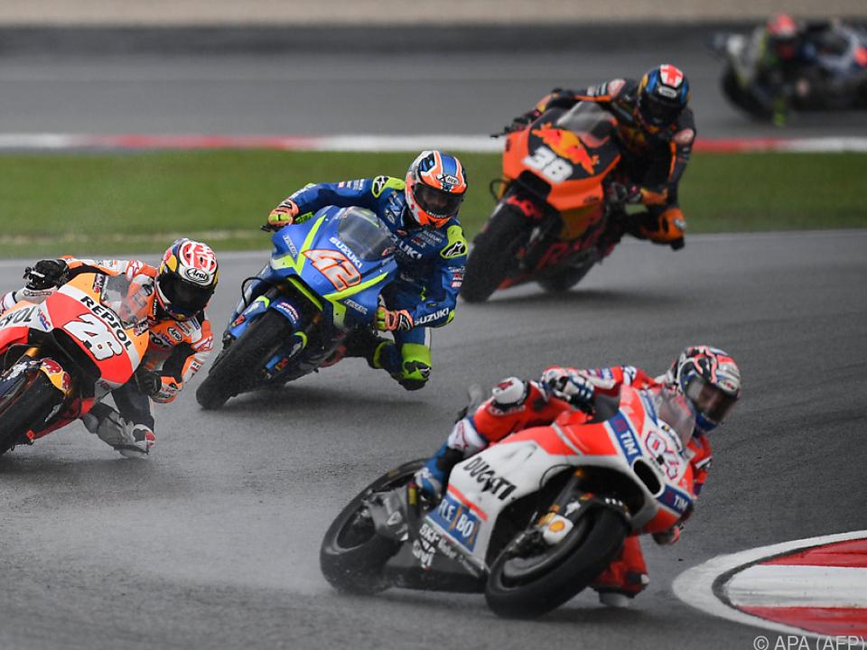 Dovizioso verringerte den Rückstand auf Marquez