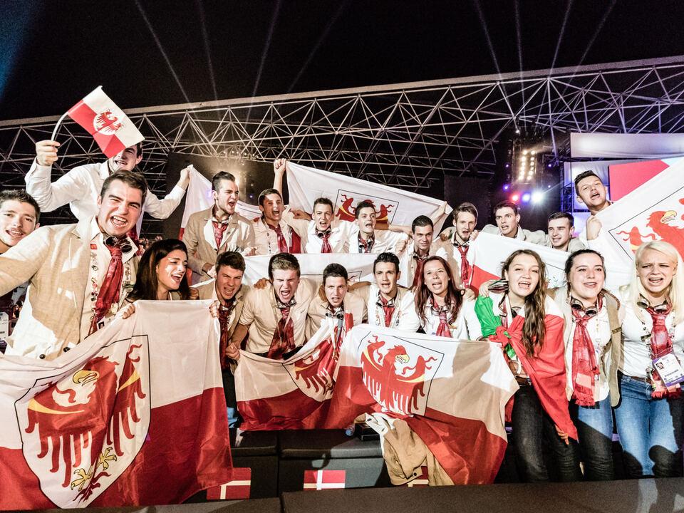 Das gesamte WorldSkills Italy Team