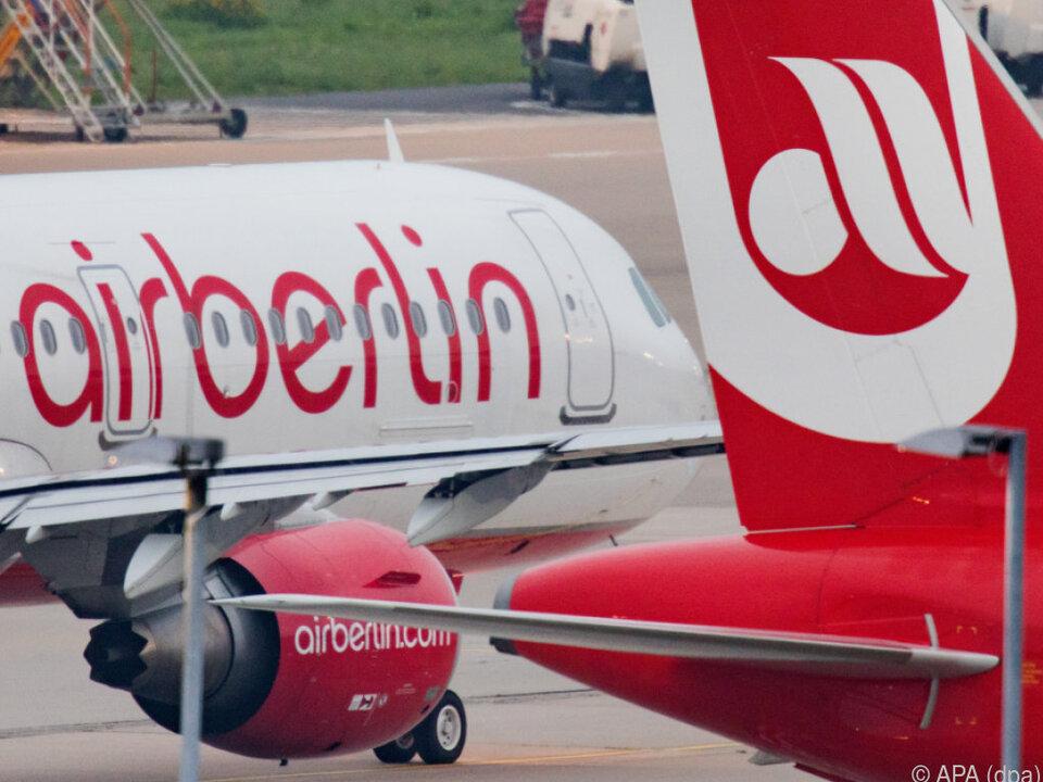 Ein Stellenabbau bei Air Berlin scheint unvermeidlich