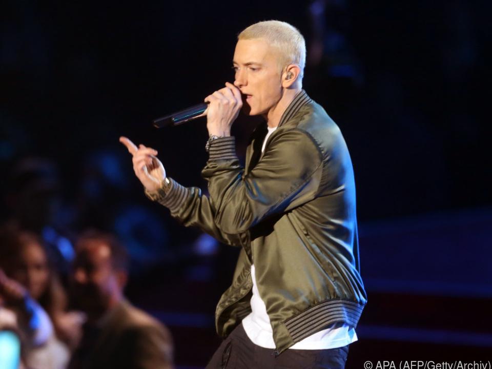 Eminem rappte sich viereinhalb Minuten den Frust von der Seele