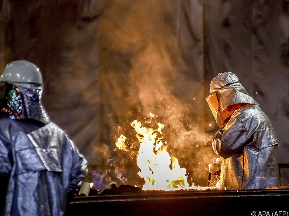 Europäische Stahl-Industrie soll geschützt werden