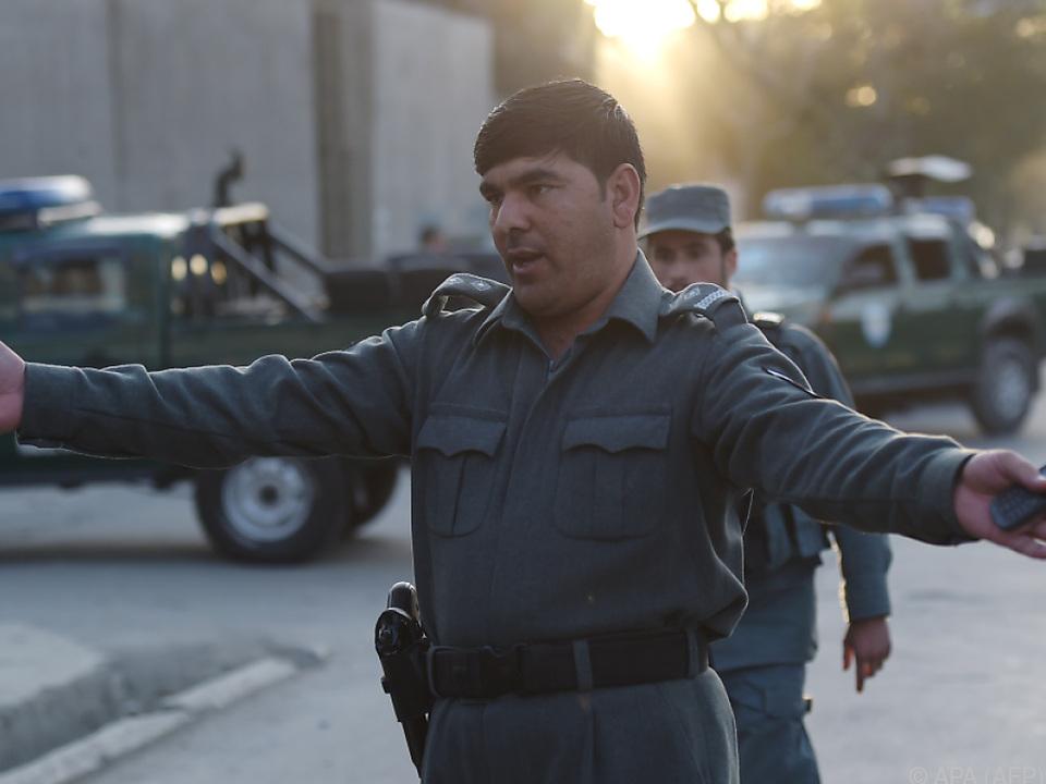 Explosion ereignete sich im Diplomatenviertel Kabuls