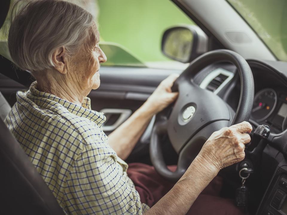 auto senior steuer lenkrad