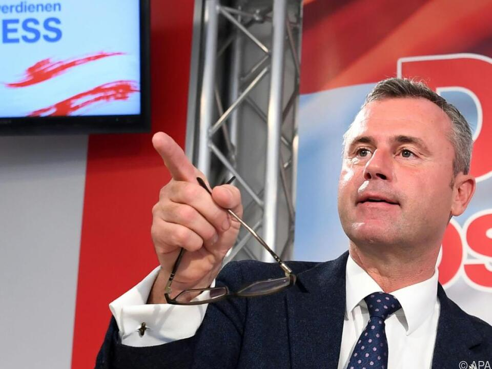 FP laut Hofer gut auf Koalitionsverhandlungen vorbereitet