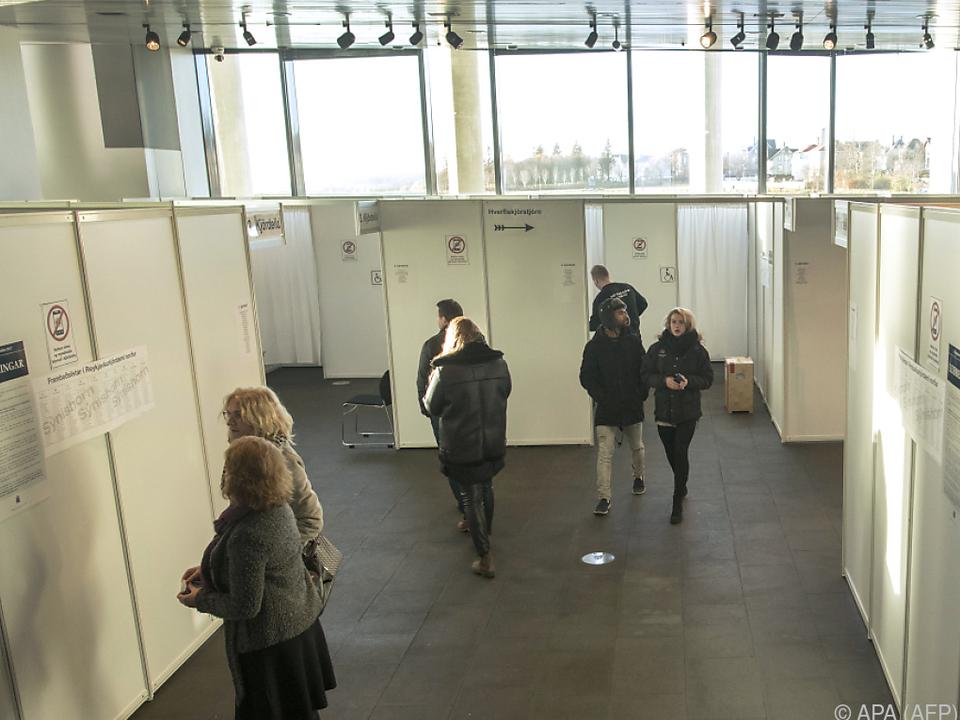 Gedichte in der Wahlurne haben in Island Tradition
