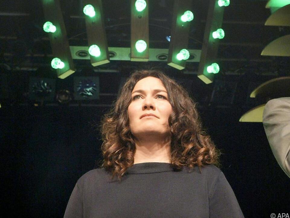 Geschockte Grünen-Chefin Ingrid Felipe