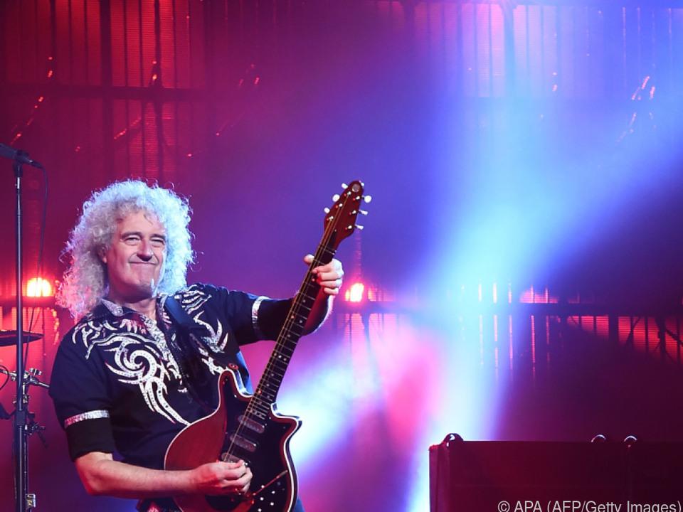 Gitarrist May ist auch Astrophysiker und Fotograf