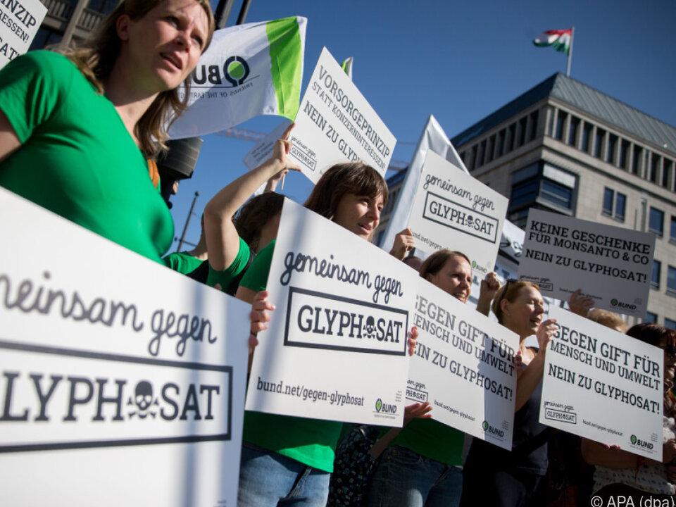 Glyphosat ist umstritten