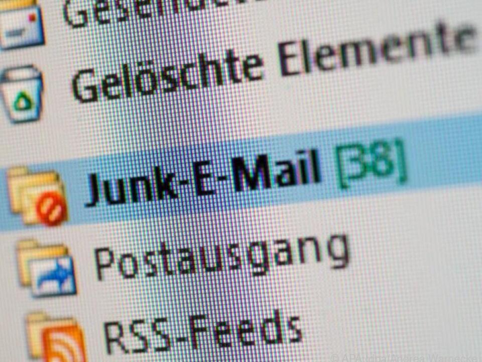 Gut eingestellte Spam-Filter sortieren die meisten unerwünschten Mails aus
